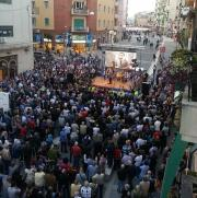 Elezioni Cosenza: Occhiuto in piazza
