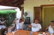 Su Facebook la foto di Iaquinta a pranzo con il boss
