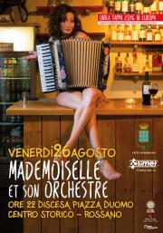 Mademoiselle et son orchestre in Calabria