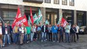 Piazzi Bilotti, sit-in dei lavoratori davanti al Comune di Cosenza