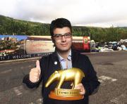 A Gianluca Callipo il Tapiro d'Oro 2016 per l'accoglienza turistica