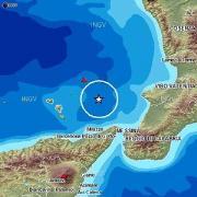 Terremoto di magnitudo 4.5 alle isole Lipari
