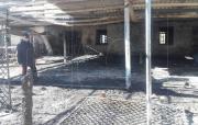 Incendio distrugge ristorante a Squillace