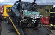 Maida, perde il controllo dell'auto e finisce in un fiume: muore una donna (FOTO-VIDEO)