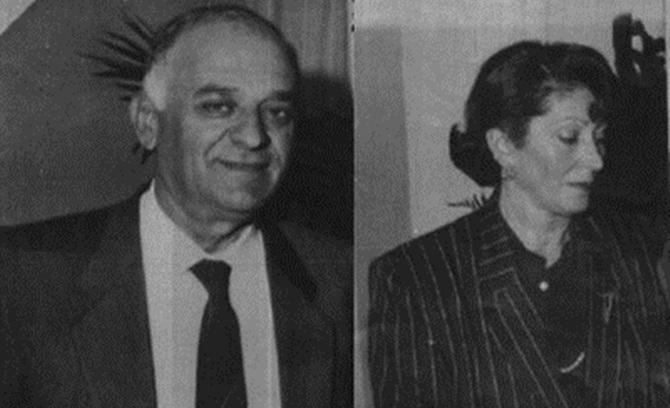 Il sovrintendente di Polizia Salvatore Aversa e la moglie Lucia Precenzano