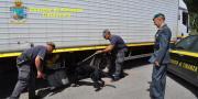 Eroina nascosta in un camion a Lamezia: un arresto