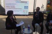 Gli assessori Musmanno e Russo all'Expo 2015